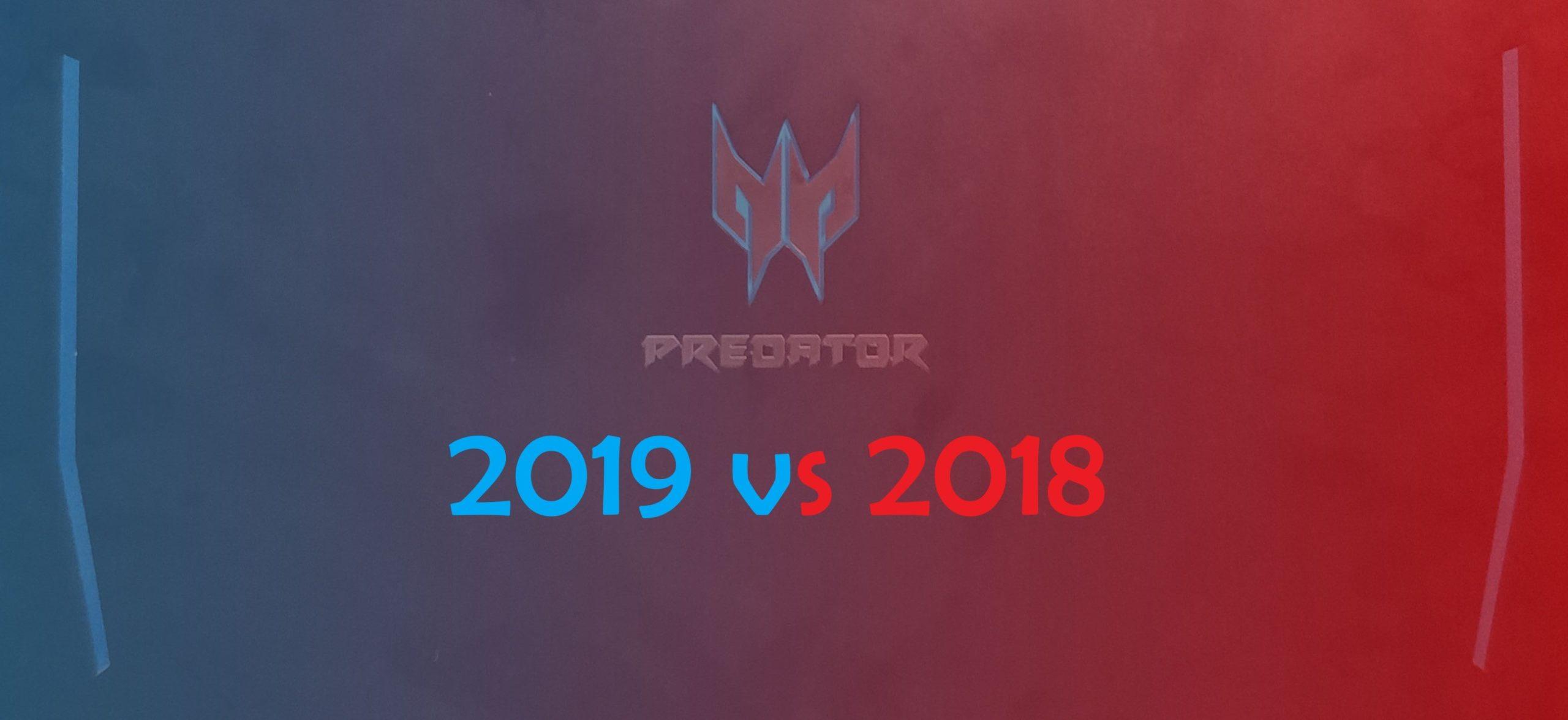 Helios 300 2019 vs 2018