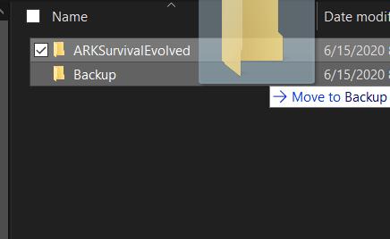 Moving Game Folder