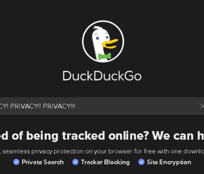 DuckDuckGo Home