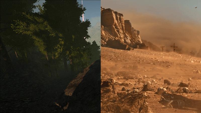 ARK vs Conan Exiles